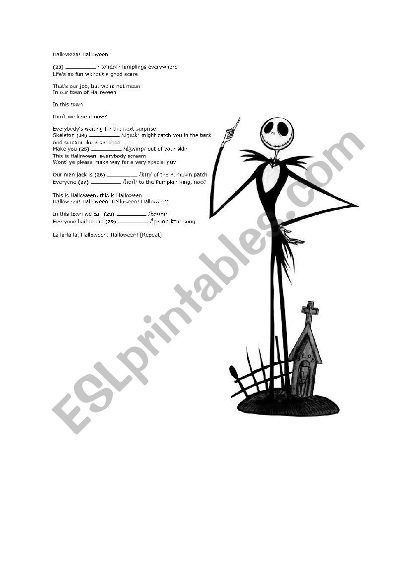 THE NIGHTMARE BEFORE CHRISTMAS: \