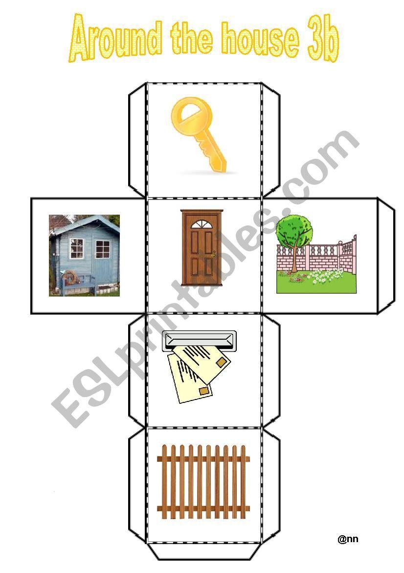 Around the house 3B worksheet