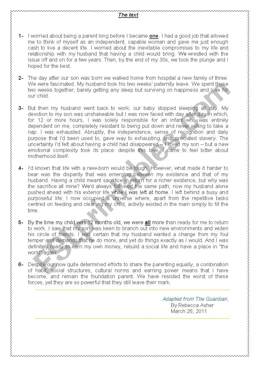 END-OF TERM TEST 2/ 2nd form worksheet