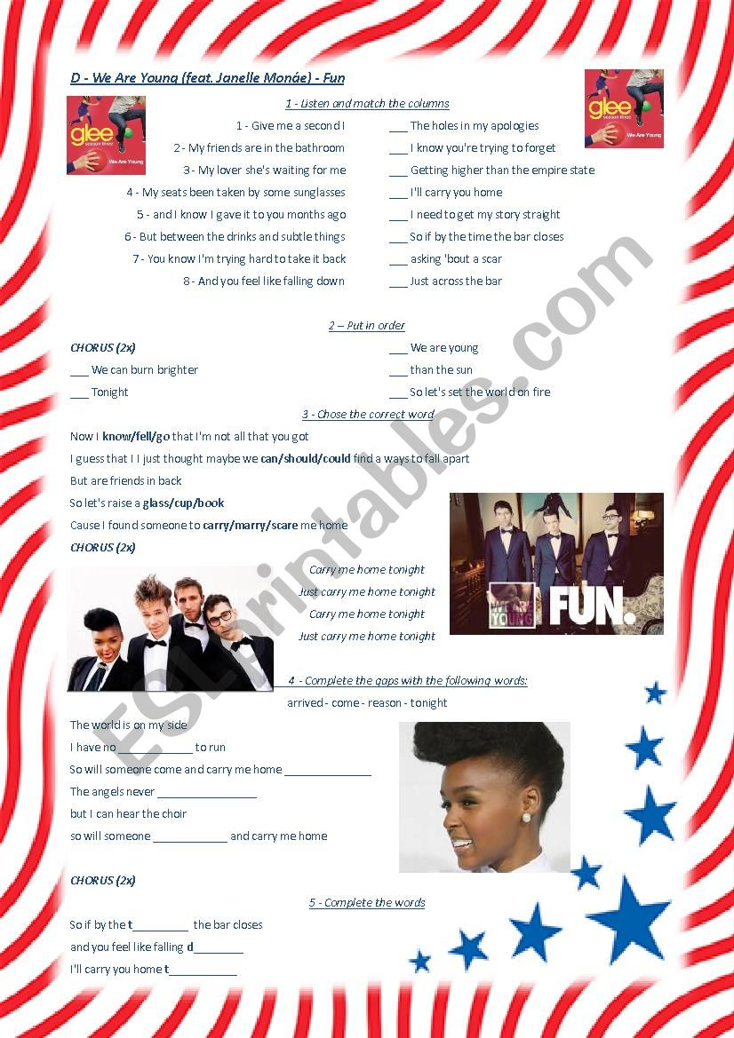We Are Young (feat. Janelle Monáe) - Fun