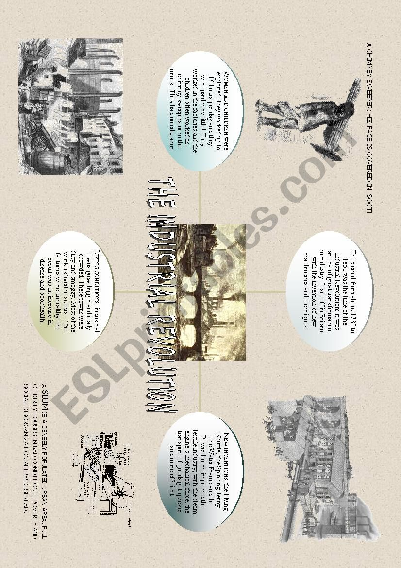 Industrial Revolution Esl Worksheet By Alex076