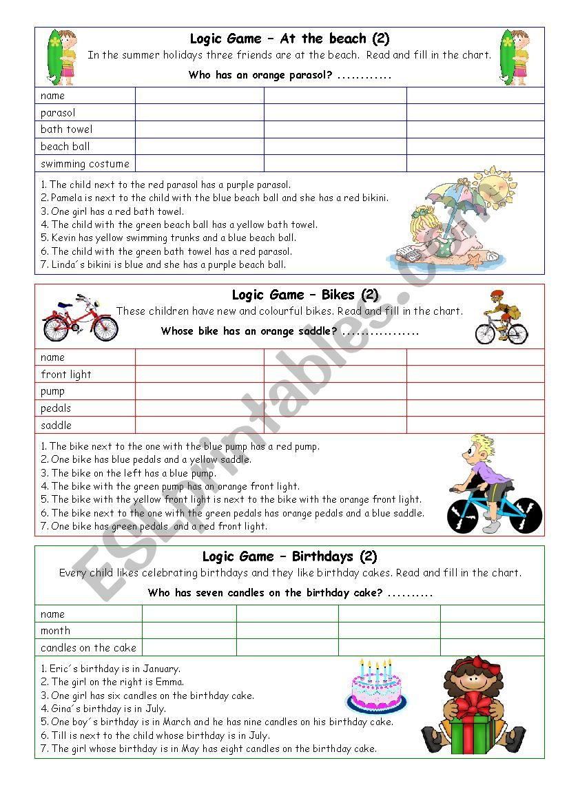 Logic games for young learners-04 (+key)