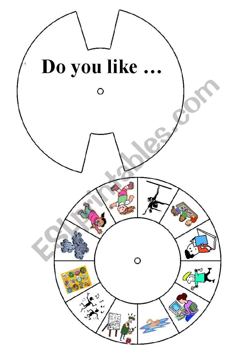 Do you like ... ? worksheet
