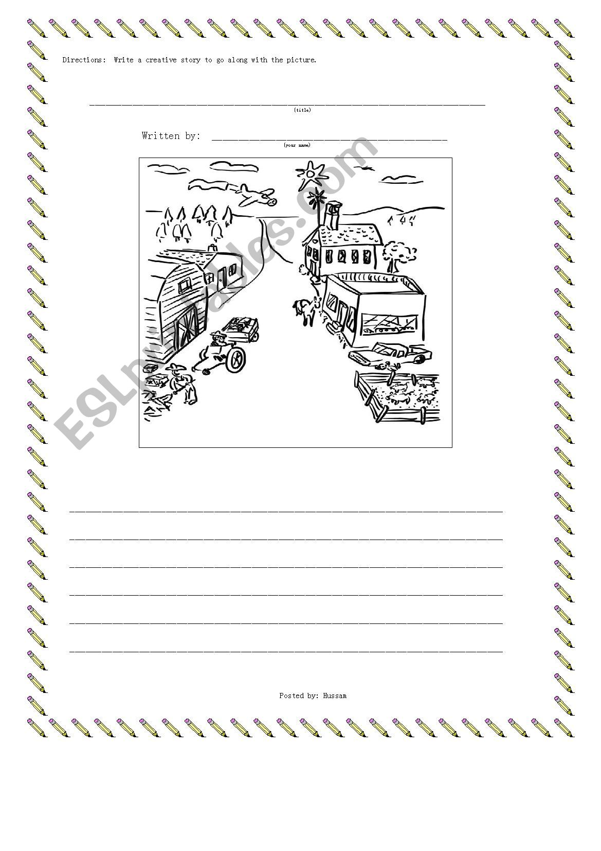 Description  worksheet
