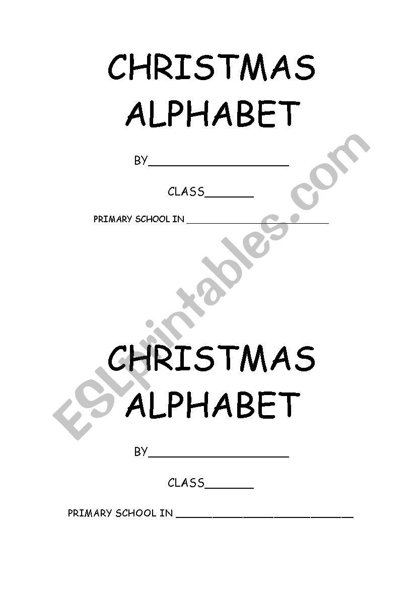 christmas booklet worksheet