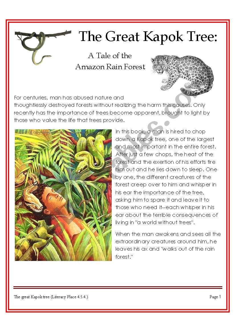 The Great Kapok Tree Rainforest