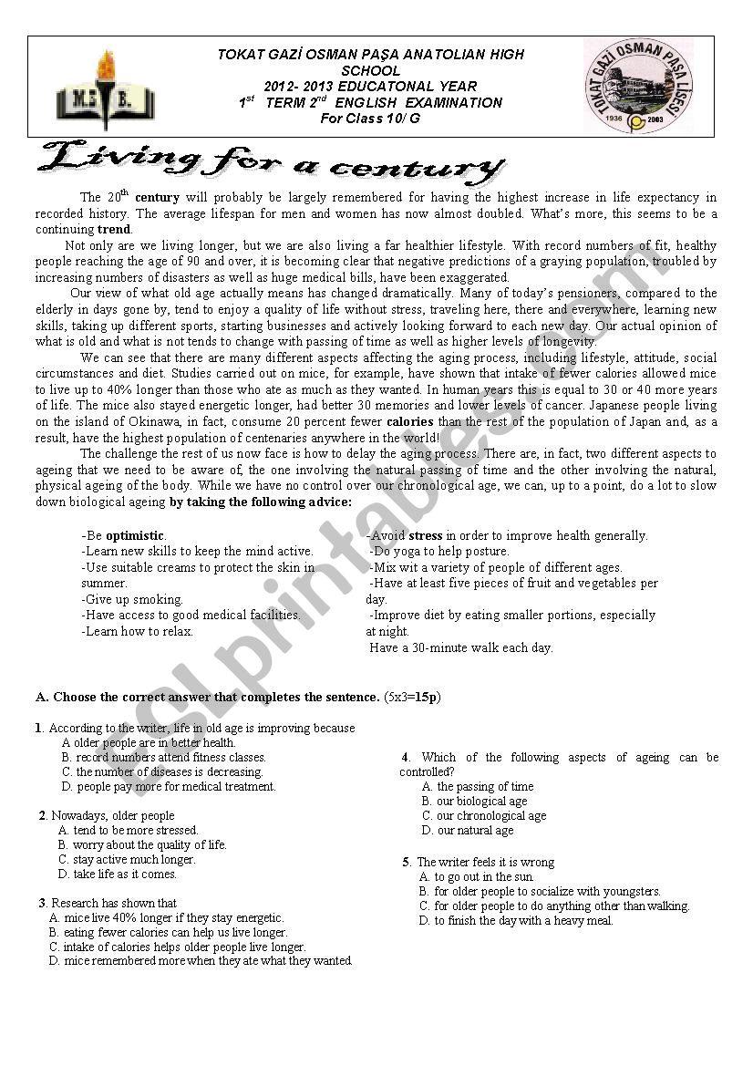 Bestseller  English Paper 2 Grade 10 Exam 2013