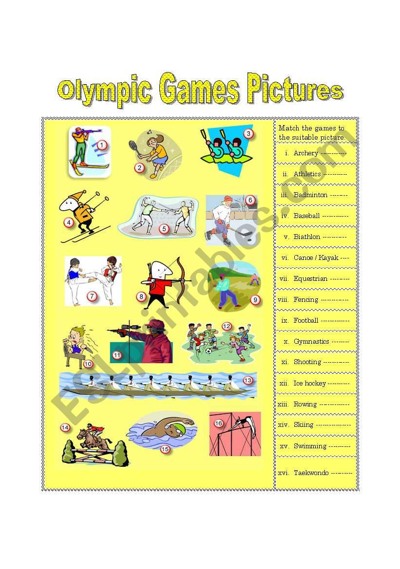 Olympic Games Pictures (part 1)