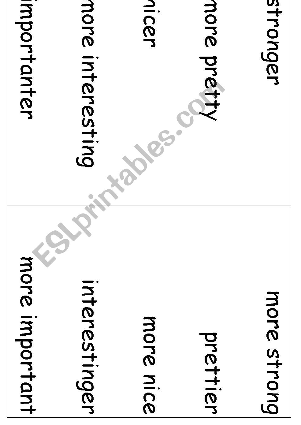 Adjectives - The 60 Second Adjective Quiz - ESL worksheet by ...