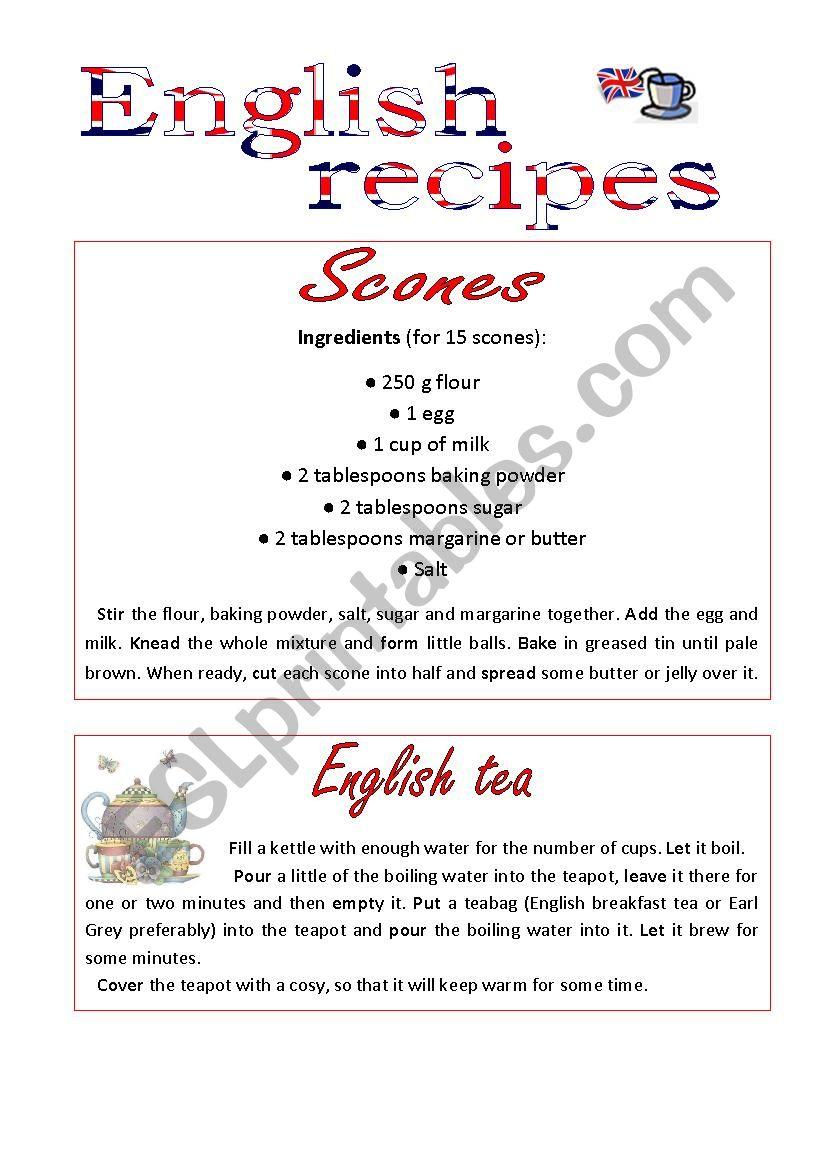 English recipes_Scones and Tea