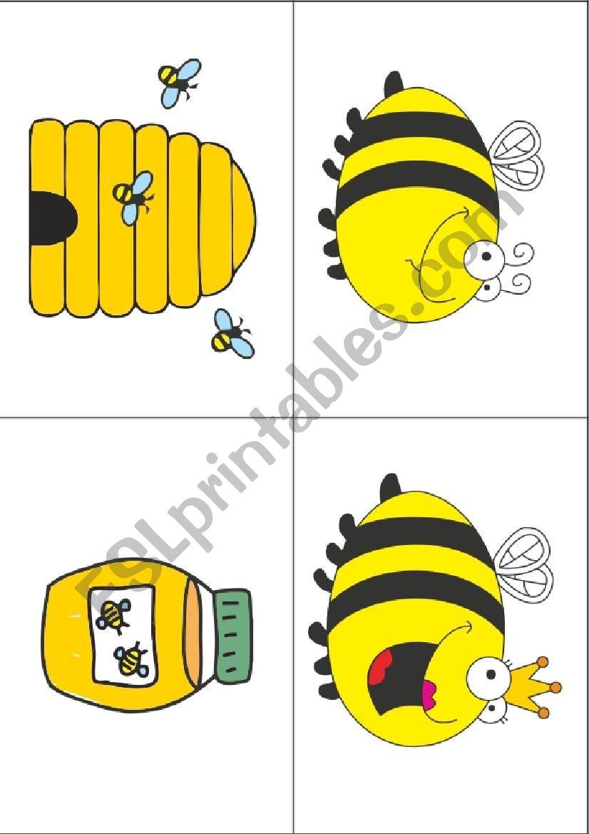 The Very Greedy Bee worksheet