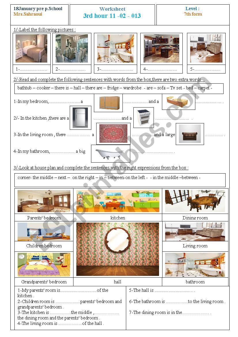 Aly´s house :describing my house