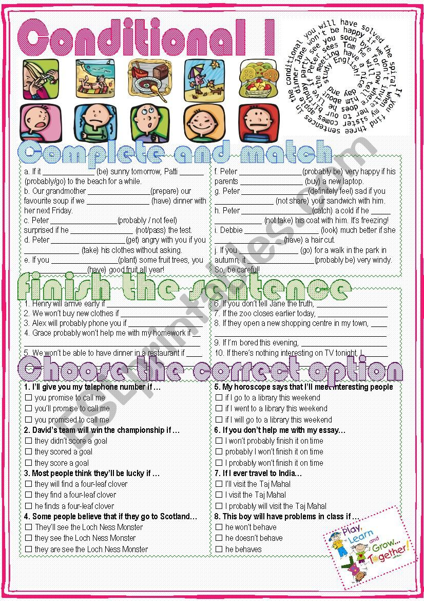 The First Conditional worksheet