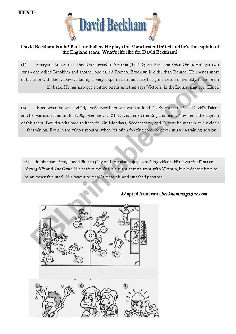 8th form end of term test 2 worksheet