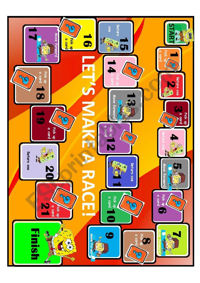 TABLE GAME worksheet