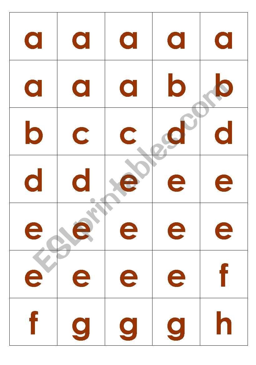 photo about Printable Scrabble Tiles Worksheet called Scrabble Tiles (decreased scenario) - ESL worksheet by way of ezekieljames