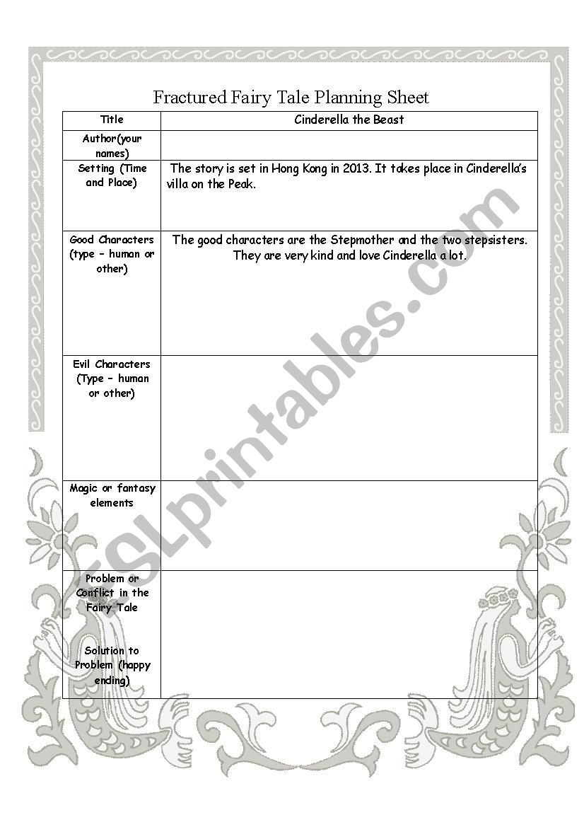 It is a graphic of Printable Fairy Tales in pdf