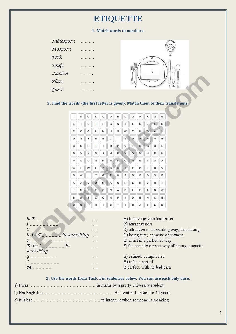 Bbc 6 minute english etiquette for boys esl worksheet by bbc 6 minute english etiquette for boys ibookread PDF