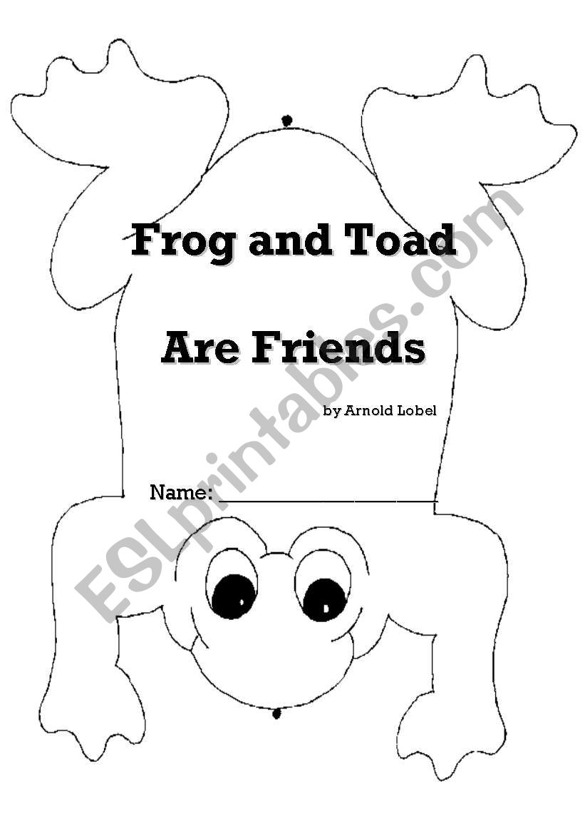 photo about Frog and Toad Are Friends Printable Activities called Frog and Toad Are Close friends - - ESL worksheet by way of sdavatgar