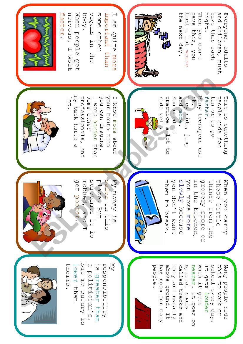 Easier Said Than Done - Comparative Guessing Card Game (2/2)