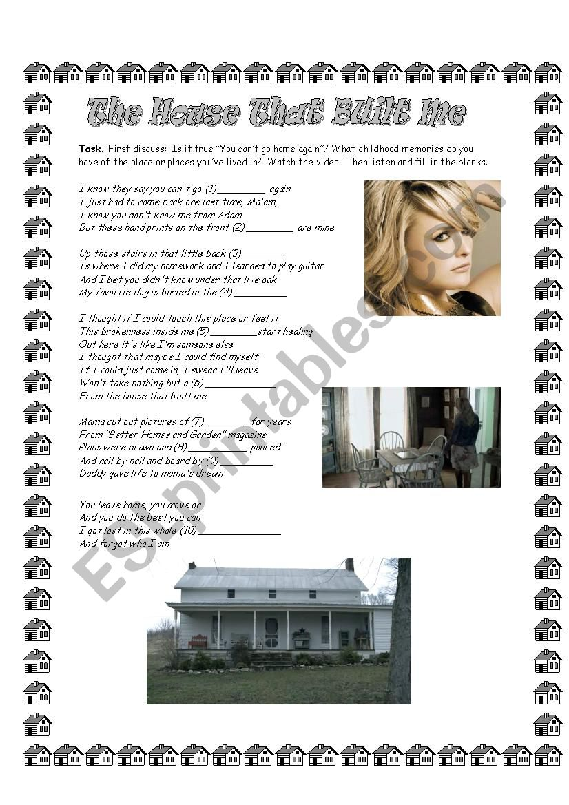 The House that Built Me - Song by Miranda Lambert