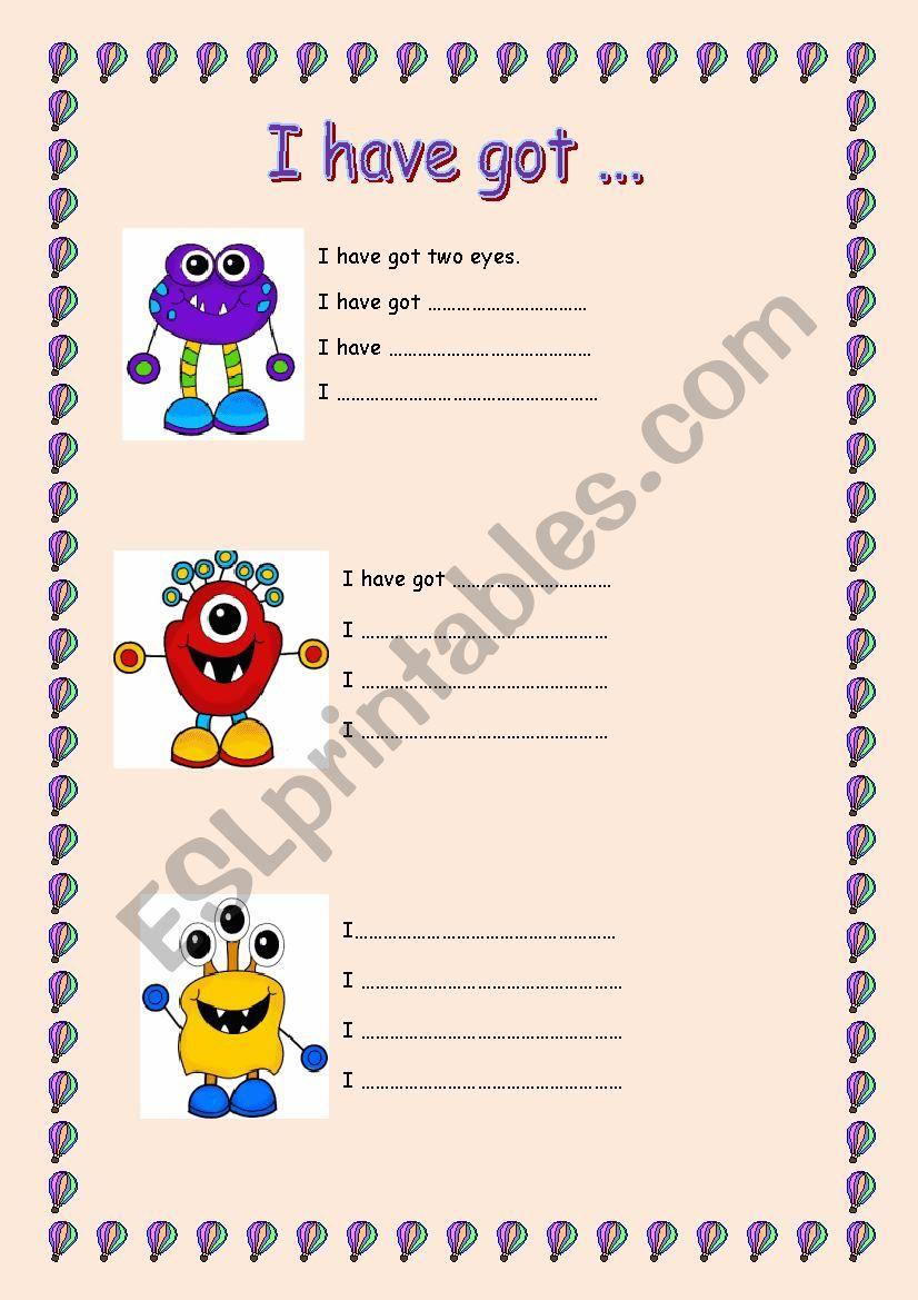 I have got worksheet