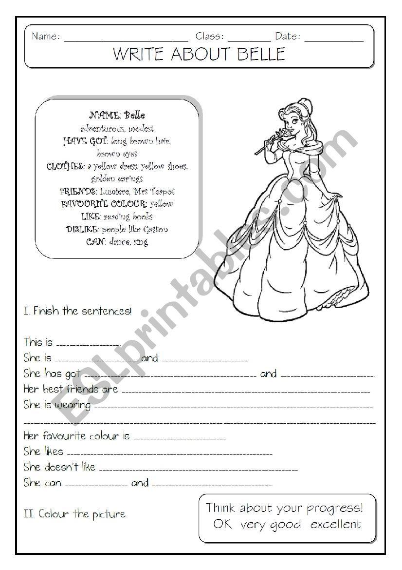 GUIDED WRITING - 2/6 worksheet