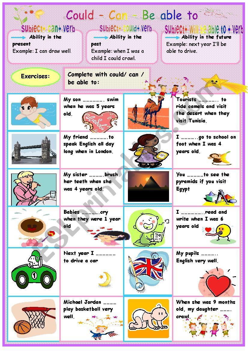 abilities worksheet