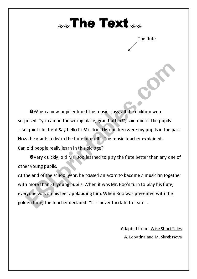 full term test n°1 8th form worksheet