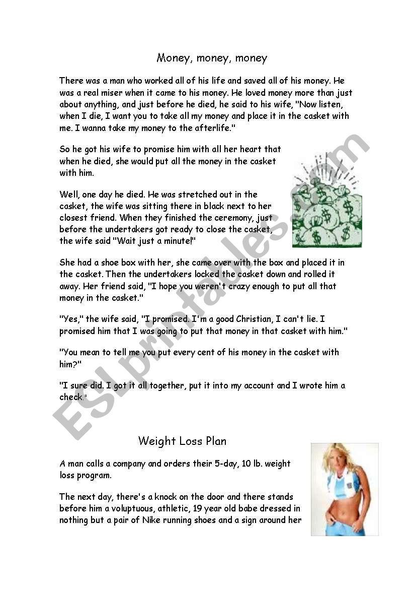 Retelling the Story - ESL worksheet by gloriawpai