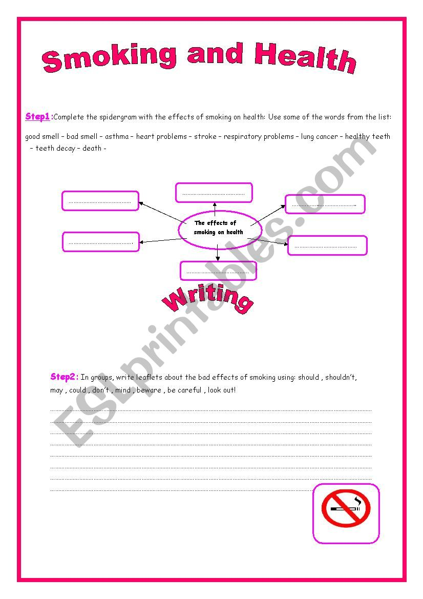 9th form module 3 lesson 2  Smoking and Health (part 2)