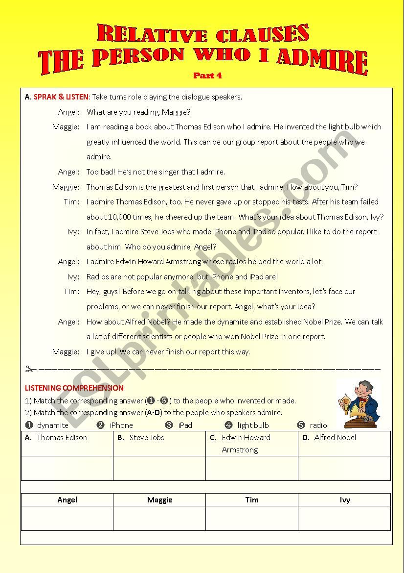Relative Clauses_Part 4-Dialogue and Writing