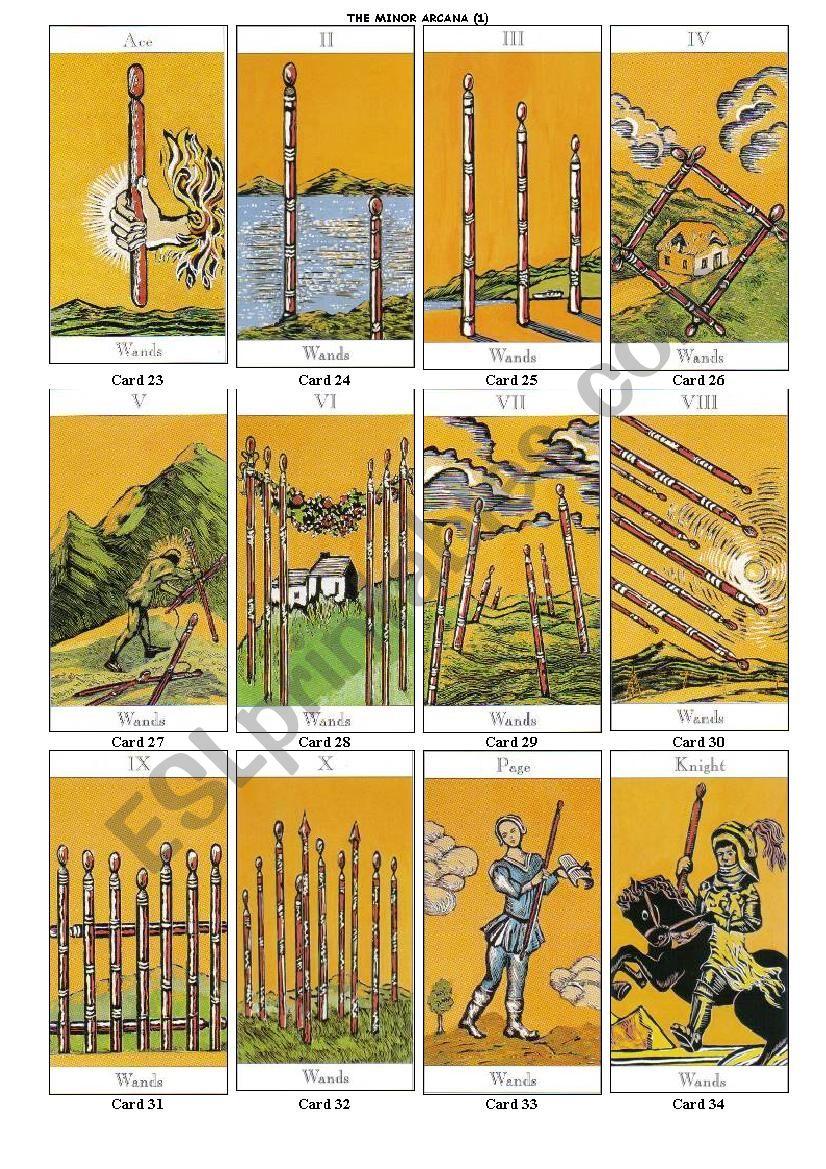 Reading Tarot Cards PART 4 of 6