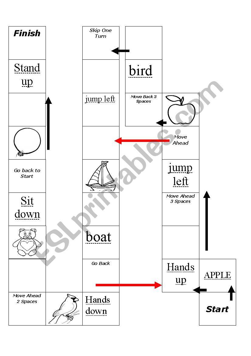 board_game_beginners worksheet