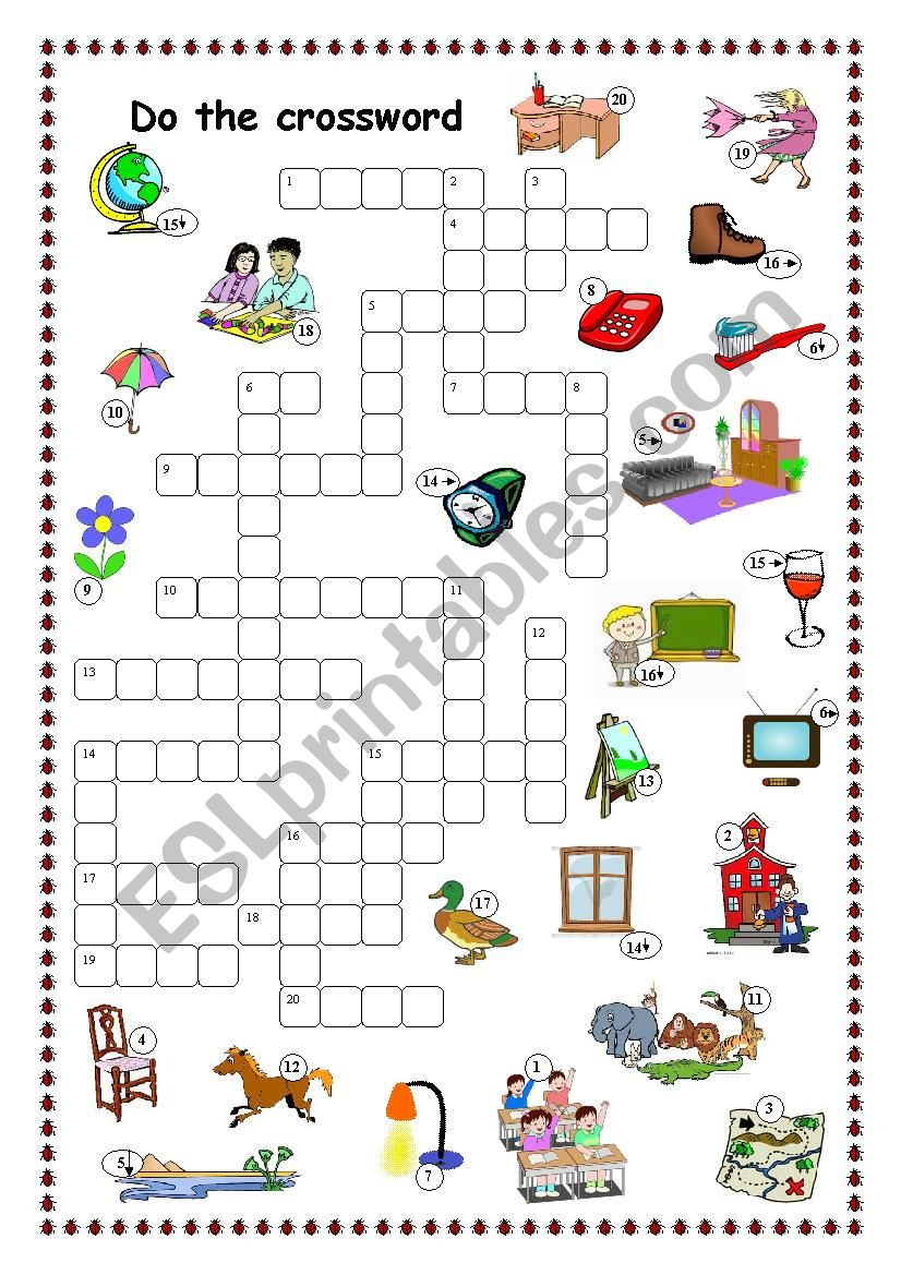 Crossword for beginners (Project 1)