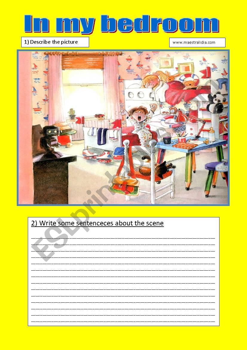speaking and writing activities