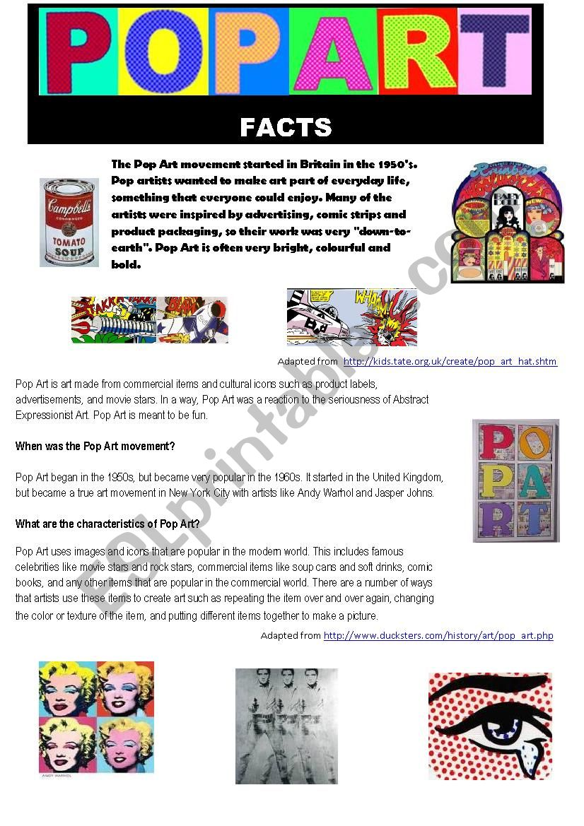 images?q=tbn:ANd9GcQh_l3eQ5xwiPy07kGEXjmjgmBKBRB7H2mRxCGhv1tFWg5c_mWT Awesome What Is Pop Art Kids @koolgadgetz.com.info