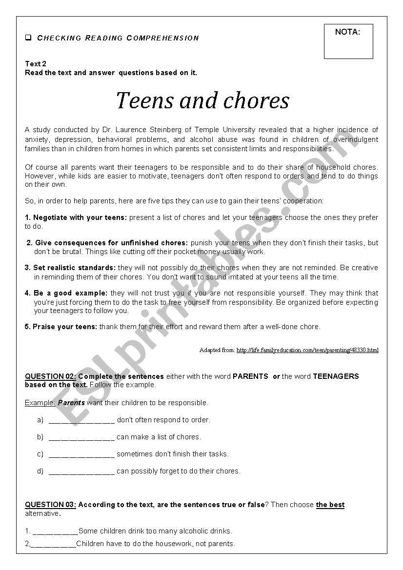 Worksheets Test Anxiety Worksheets test esl worksheet by lcarvalho worksheet