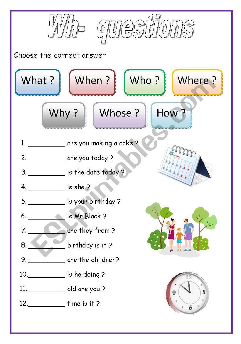 Worksheets Wh Questions Worksheets wh questions english for beginners esl worksheet by lucak f beginners