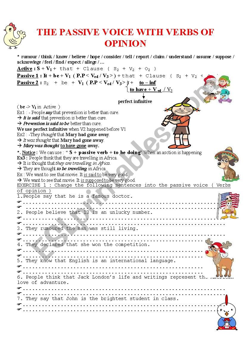 Gammar worksheet