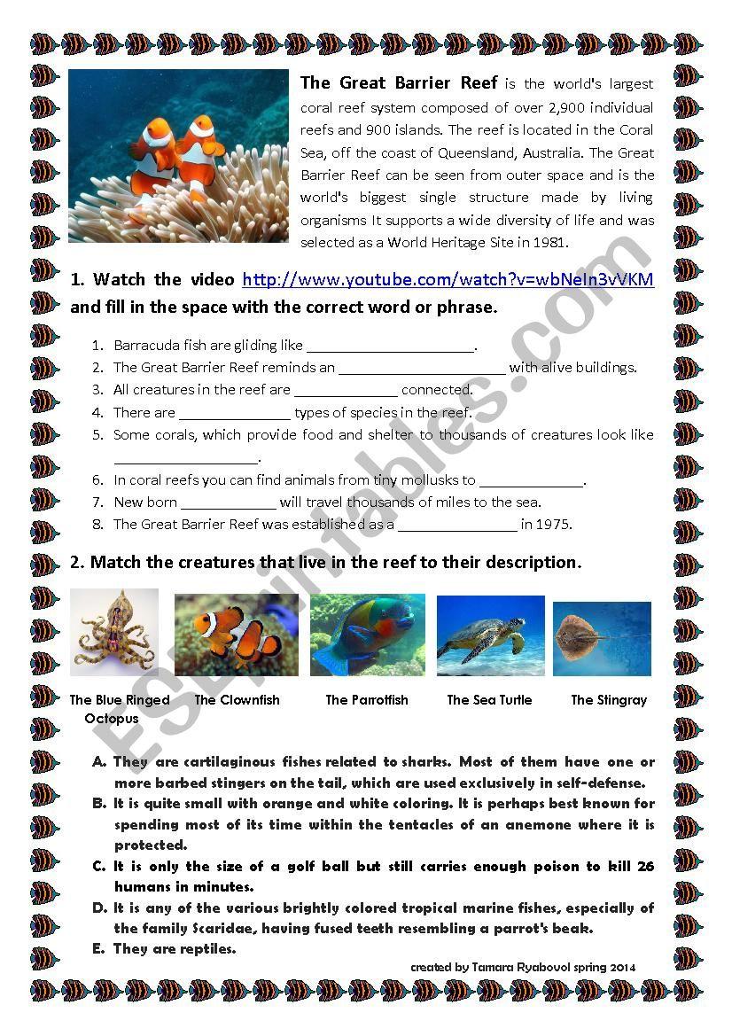 Exploring Oceans: Great Barrier Reef
