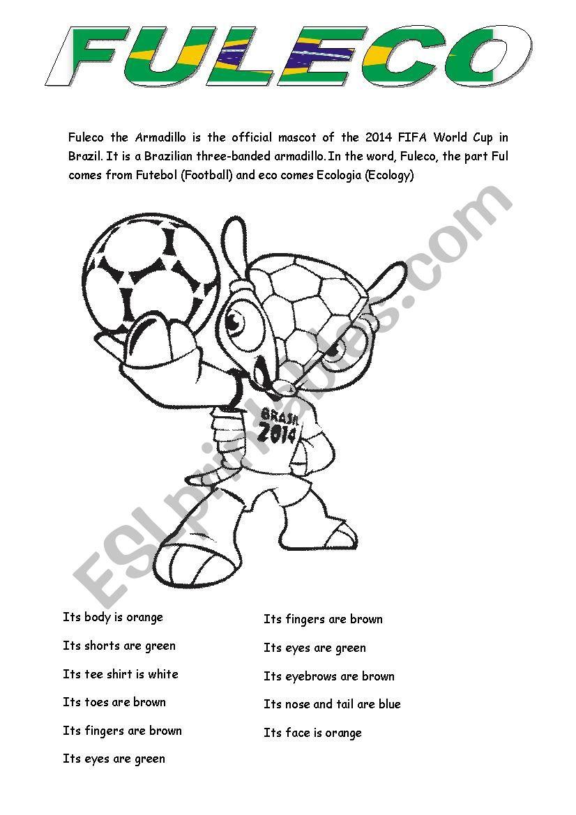Fuleco worksheet