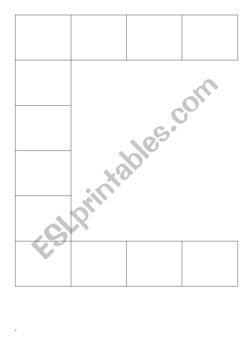 Race Track Board Game Template Esl Worksheet By Manuhk