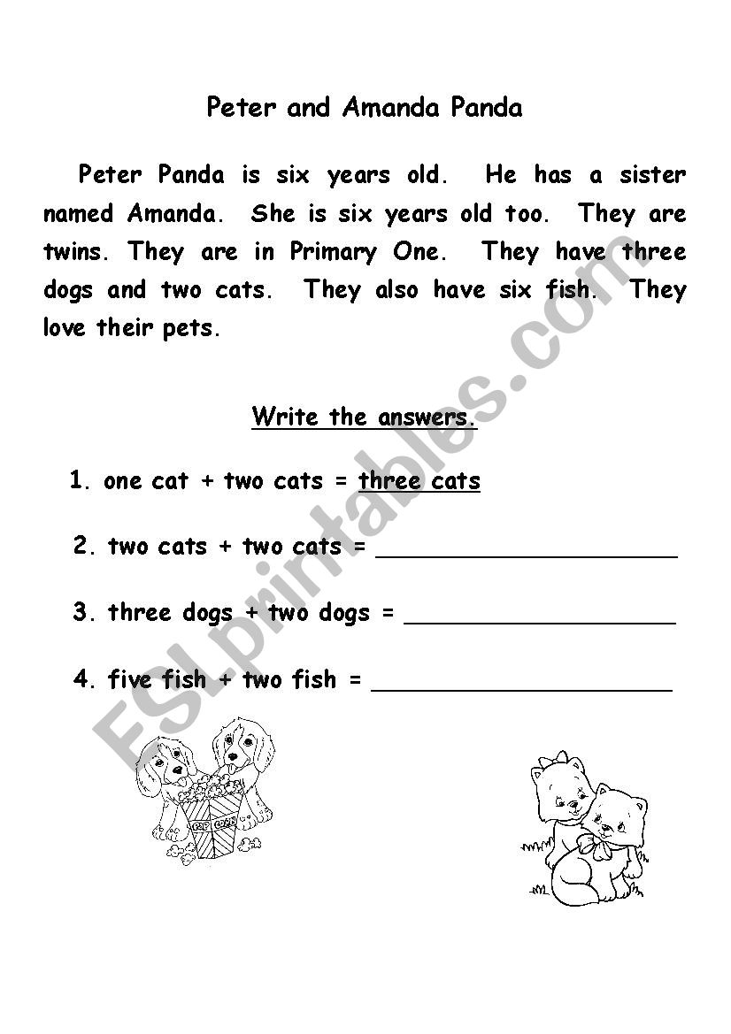 - Reading Comprehension - ESL Worksheet By Bethconrad