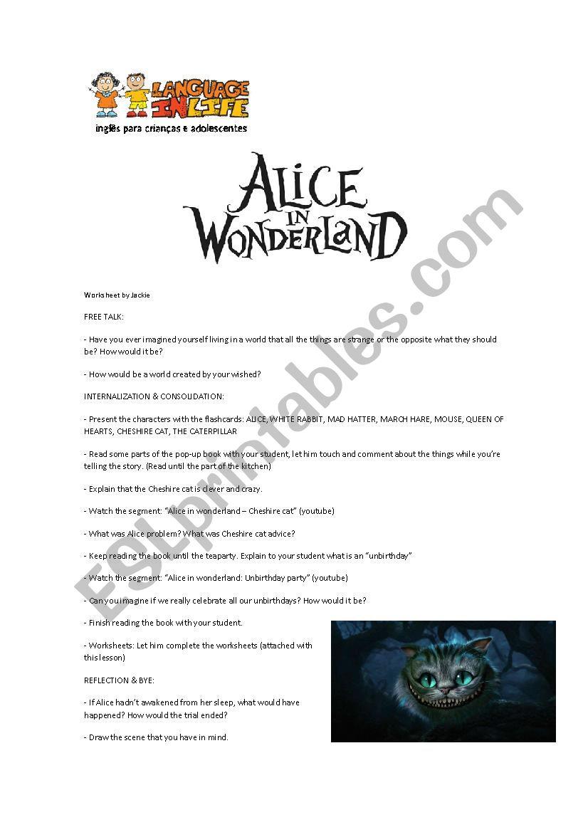 Alice in Wonderland full class