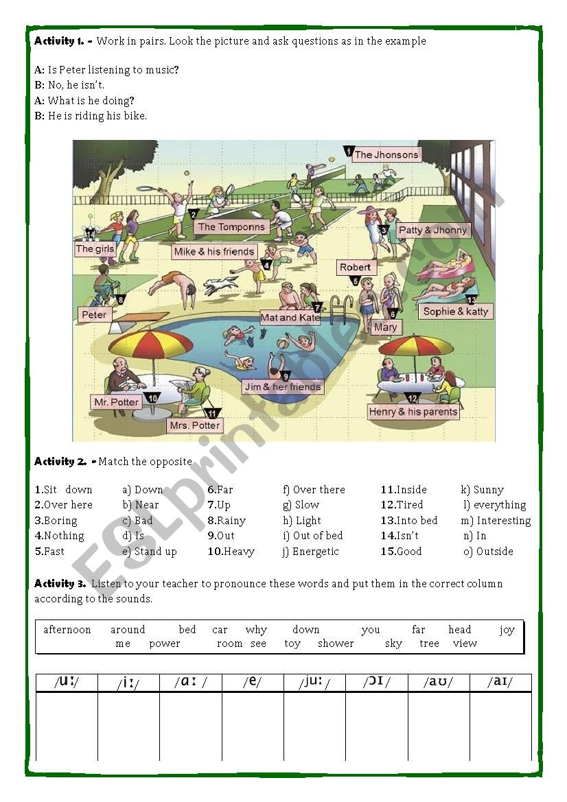 song worksheet: LEMON TREE worksheet