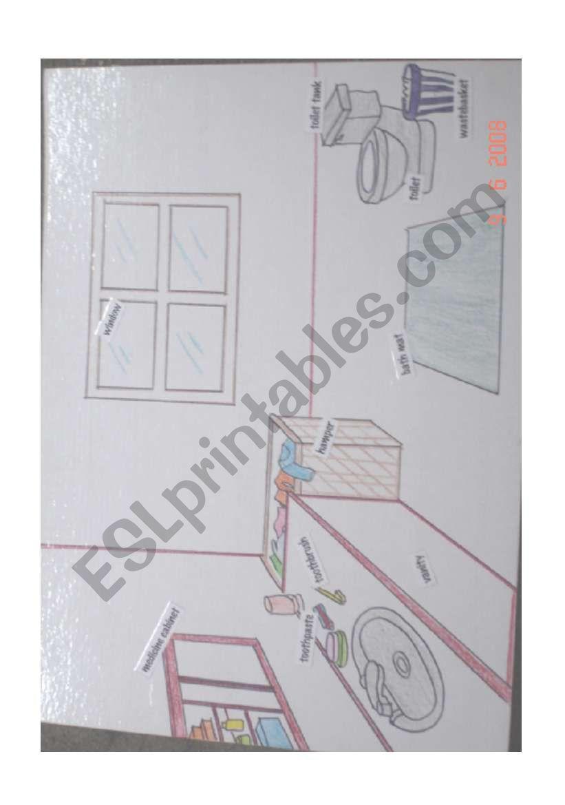 Restroom worksheet
