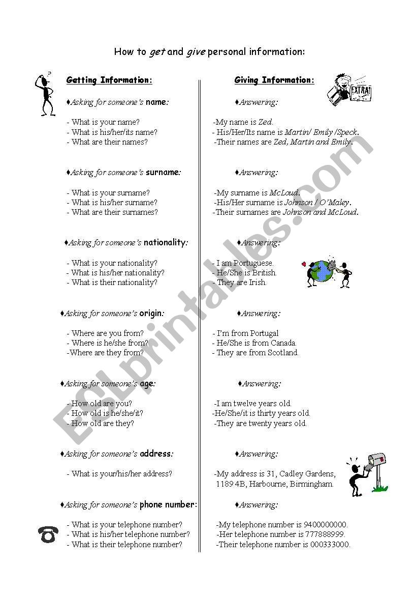 How to ask and answer about id - ESL worksheet by fairyland
