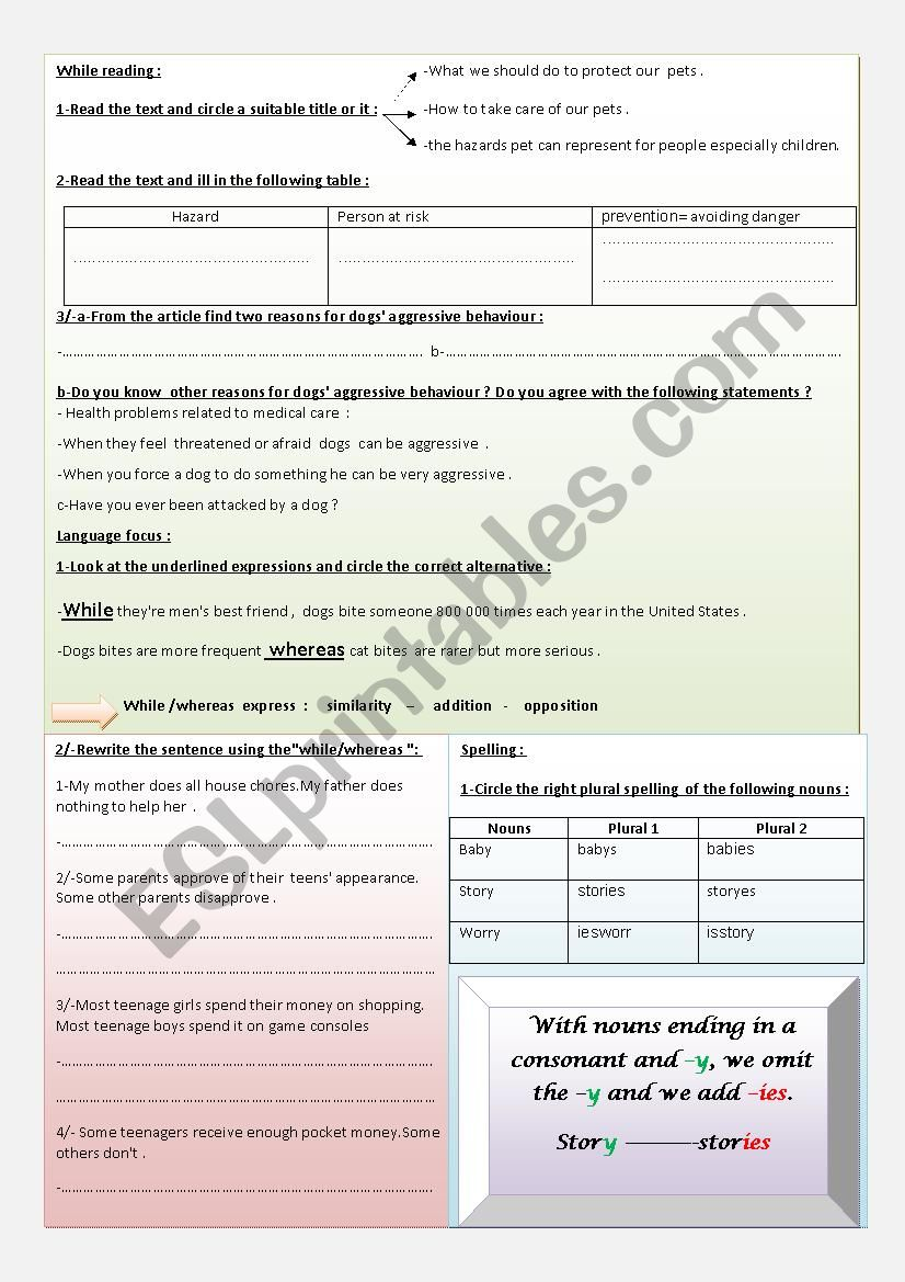 Safety At Home 9th Form Esl Worksheet By Moemendhia