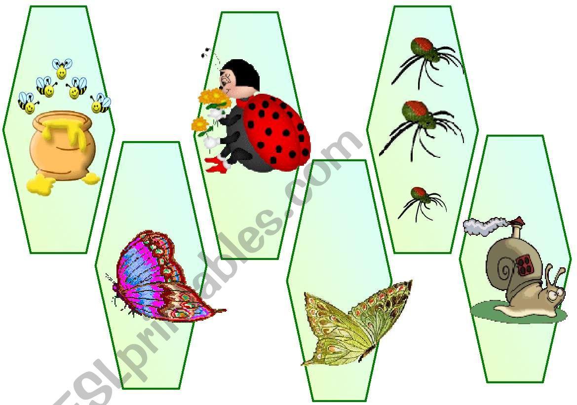 Bookmarks - animals worksheet